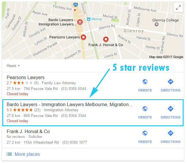 Google-Local-Pack-and-Google-Reviews