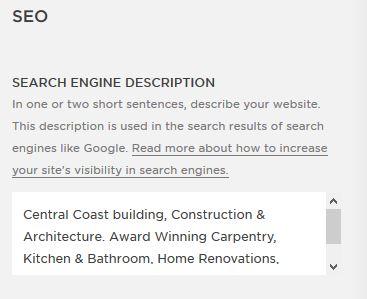 Squarespace-Search-Engine-Optimisation-Description
