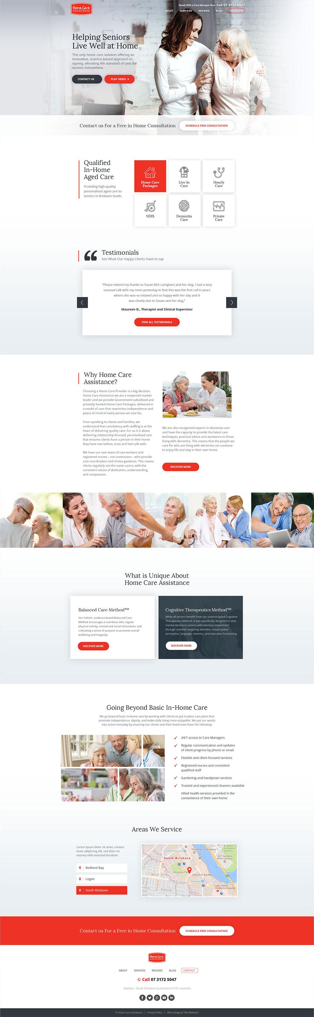 home-care-assistance-web-design