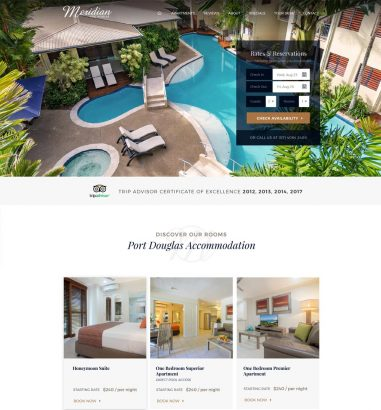 Meridian Port Douglas Web Design