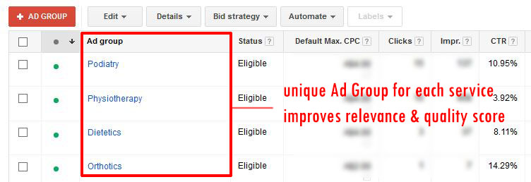 structured-adwords-account
