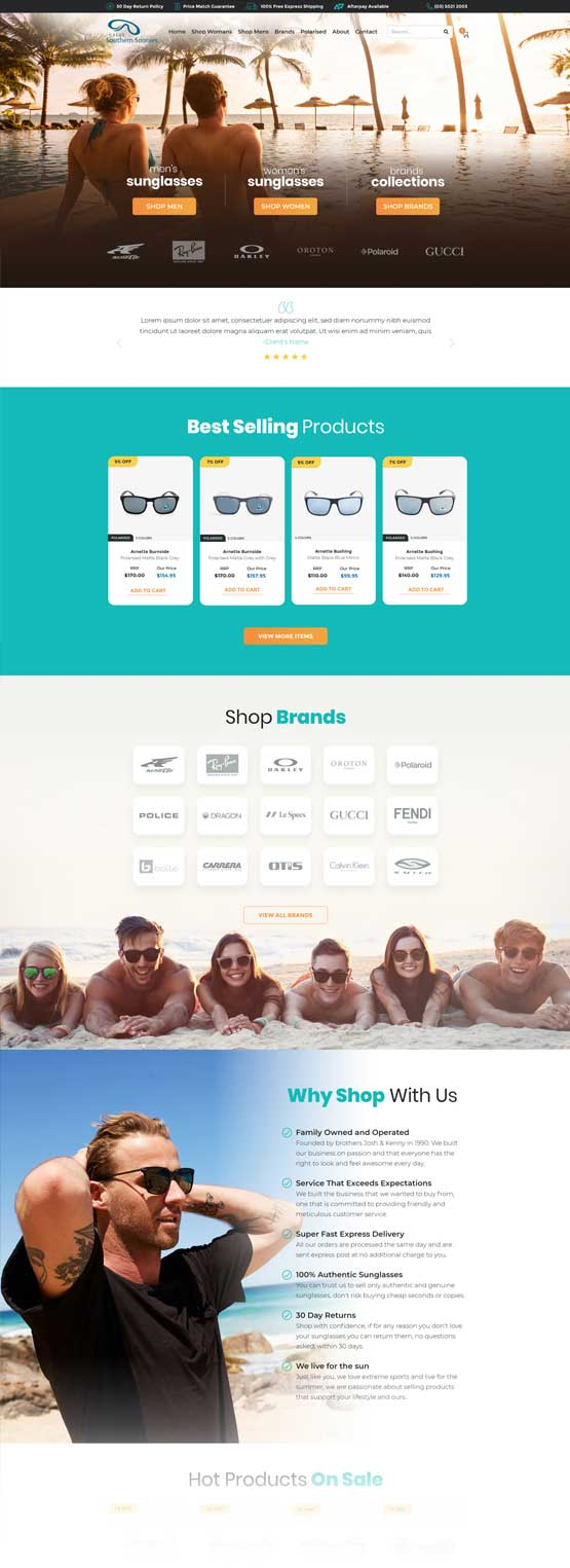 great-southern-sunnies-website-case-study