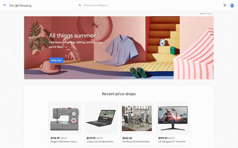 google-shopping-home